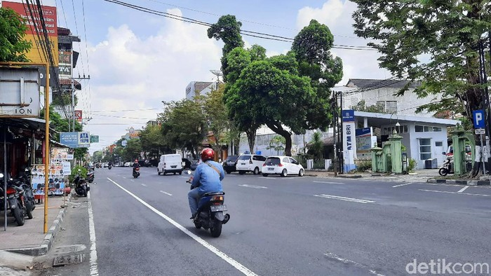 Sebuah pohon di Jalan Urip Sumoharjo, Kelurahan Klitren, Kecamatan Gondokusuman, Kota Yogyakarta viral karena berbentuk seperti ayam. Yuk kita lihat.