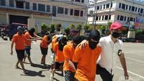 Keroyok Sultan Gegara Cemburu Buta, 8 Anggota Geng Motor Ditangkap di Gowa