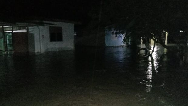 Banjir di Asahan, Sumut.