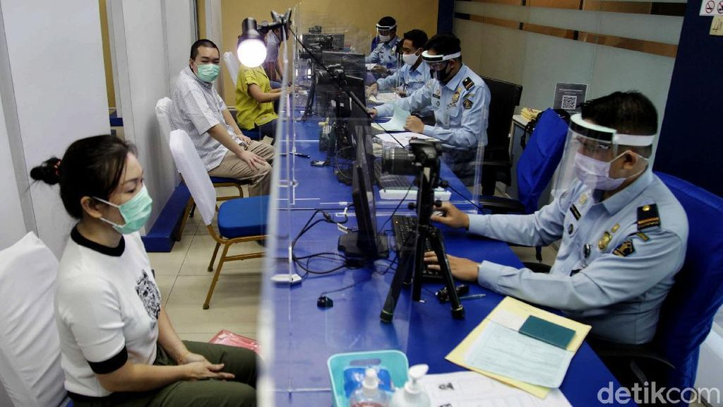 Begini Pelayanan New Normal di Kantor Imigrasi Jakpus