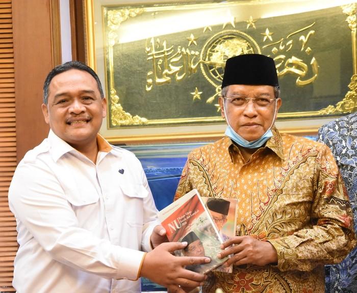 Kepala BP2MI bertemu Ketua PBNU Said Aqil
