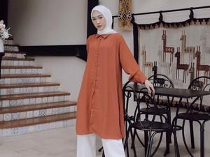 10 Mix and Match Celana Kulot untuk Hijabers