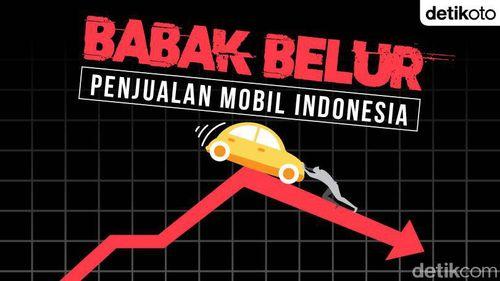 Babak Belur Penjualan Mobil Indonesia