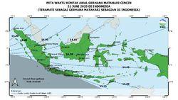 Catat! Ini Waktu Gerhana Matahari Sebagian di Indonesia