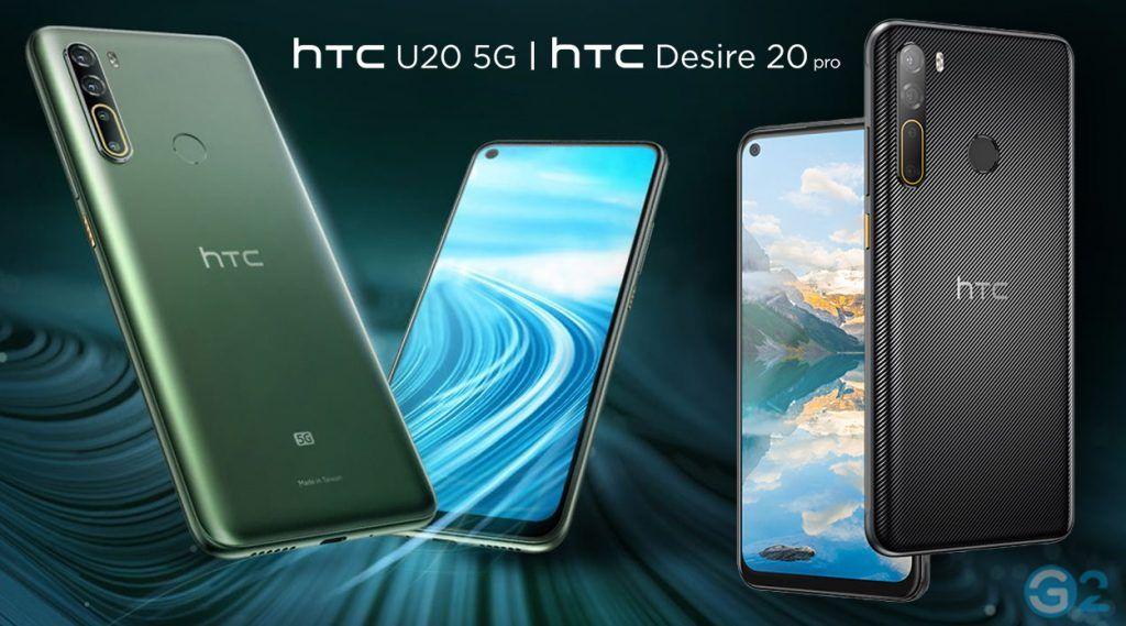 HTC Desire 20 Pro dan U20 5G