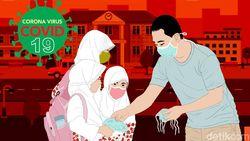 Daftar 53 Zona Merah dan 99 Zona Hijau Corona di Indonesia