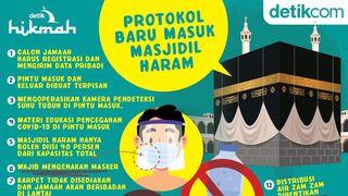 Protokol Baru Masuk Masjidil Haram