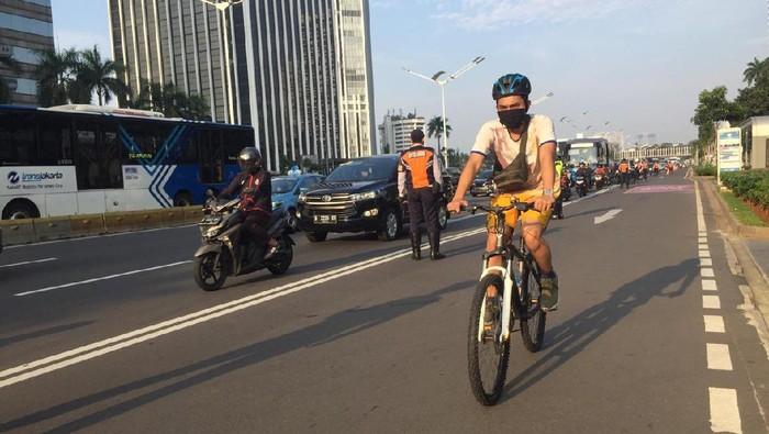 Jam Operasional Jalur Sepeda di Sudirman Diatur Pagi dan Sore