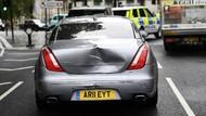 Begini Kondisi Mobil PM Inggris yang Tabrakan Beruntun