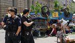 Mobil Ini Jadi Korban Aksi Demo Perubahan Iklim di Berlin