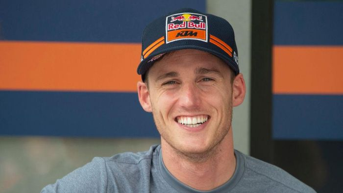 KUALA LUMPUR, MALAYSIA - OCTOBER 31: Pol Espargaro of Spain and Red Bull KTM Factory Racing smiles in the paddock during the MotoGP of Malaysia - Previews at Sepang Circuit on October 31, 2019 in Kuala Lumpur, Malaysia. (Photo by Mirco Lazzari gp/Getty Images)