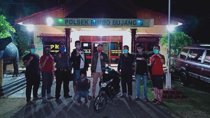 Polres Jambi tangkap 2 begal sadis di Palembang dan Lampung (dok. Istimewa)