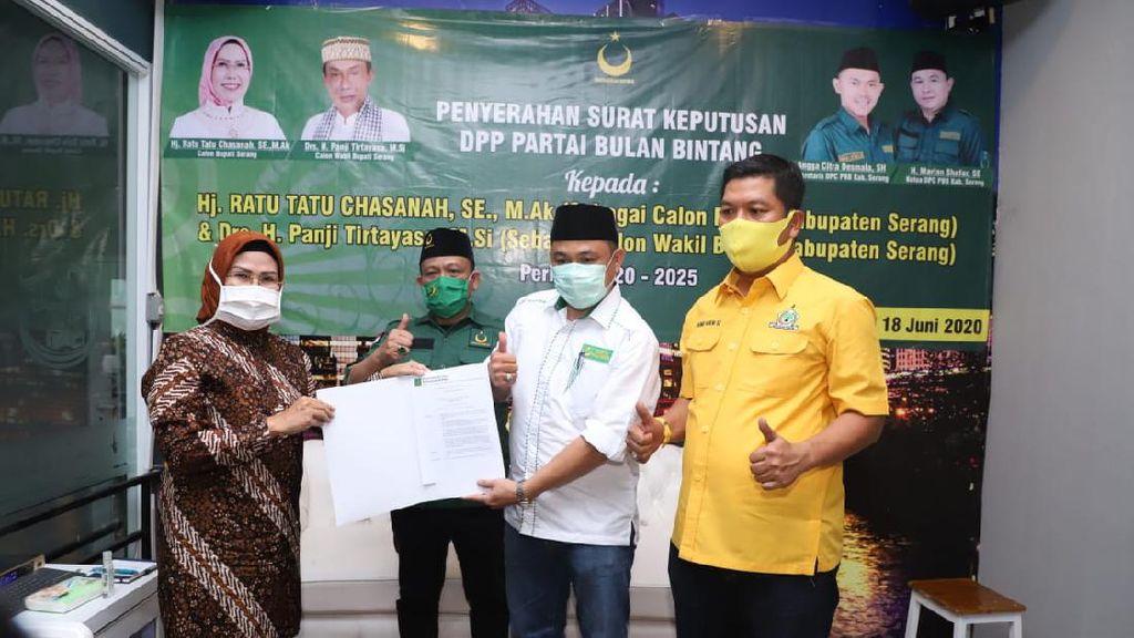 PBB Resmi Usung Ratu Tatu-Pandji di Pilkada Kabupaten Serang