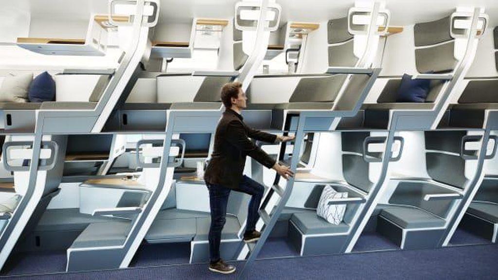 Bisa Jadi, Kursi Pesawat di Masa Mendatang Seperti Ini