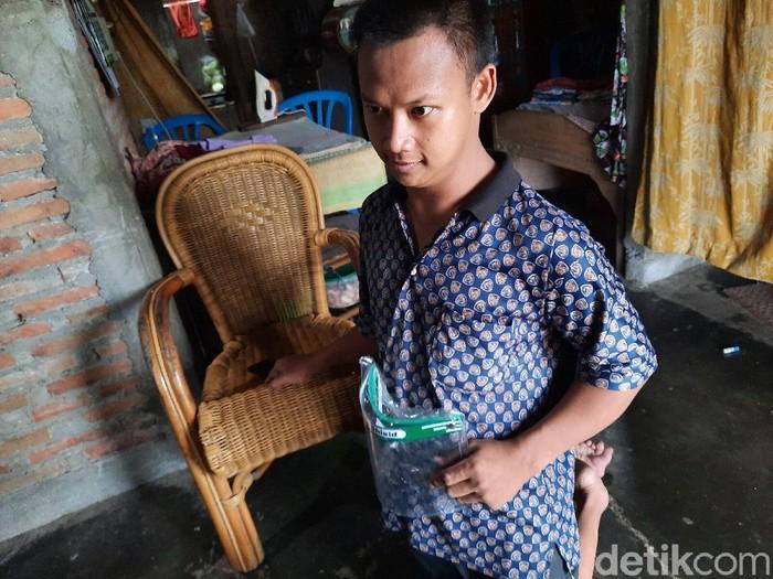 Andika Indra Saputra saat ditemui di Prambanan, Klaten, Jumat (19/6/2020).
