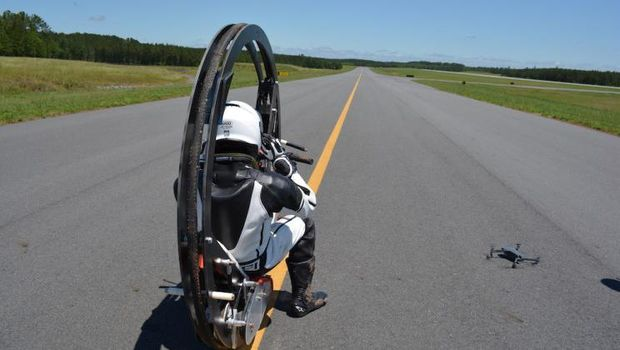 EV360, monowheel listrik