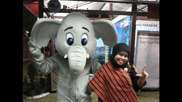 Fitriana Saragih, Kepala Seksi Pemanfaatan dan Pelayanan Balai Besar TN Gunung Leuser