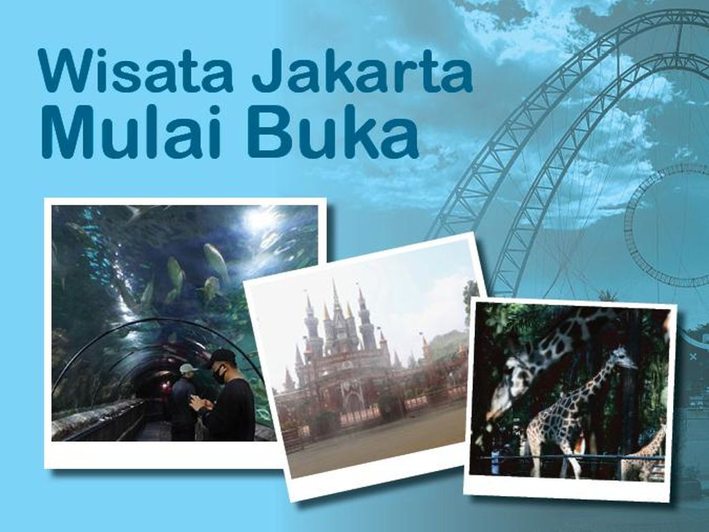 Wisata Jakarta Mulai Buka