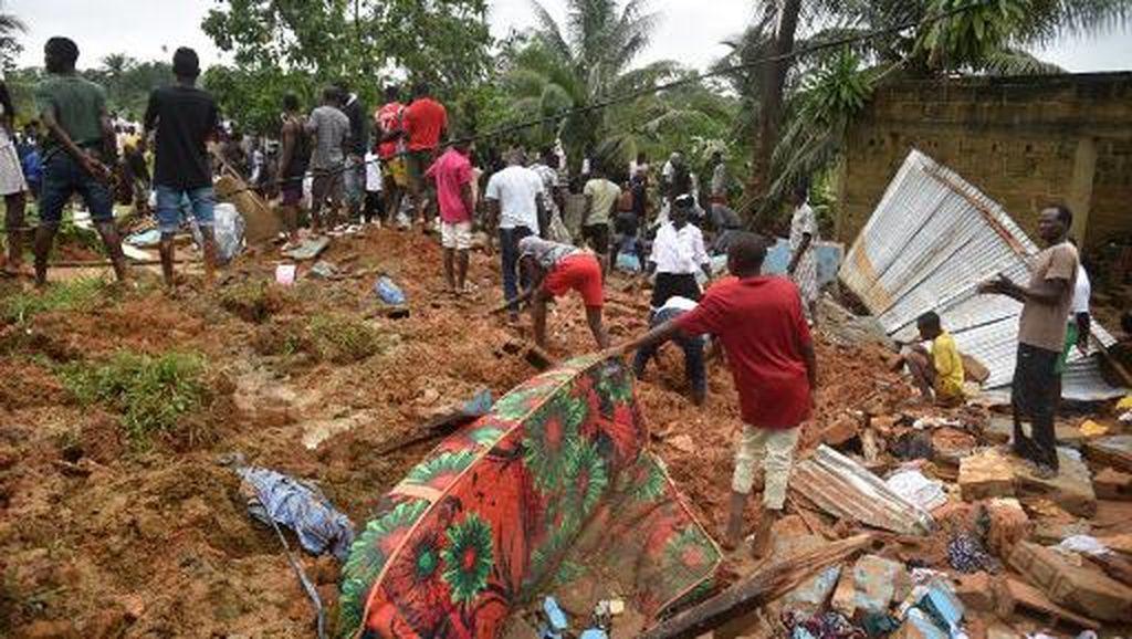 Longsor di Pantai Gading, 13 Orang Tewas