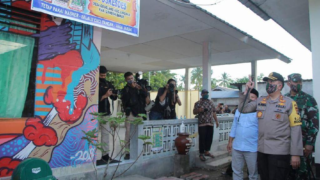 Polda NTB Umumkan 6 Desa Calon Juara Lomba Kampung Sehat