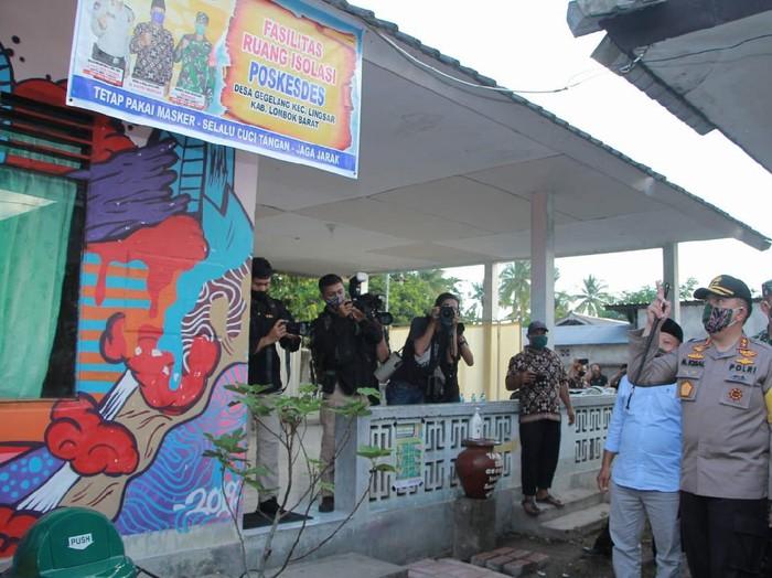 Kapolda NTB Irjen Mohammad Iqbal resmi buka lomba Kampung Sehat
