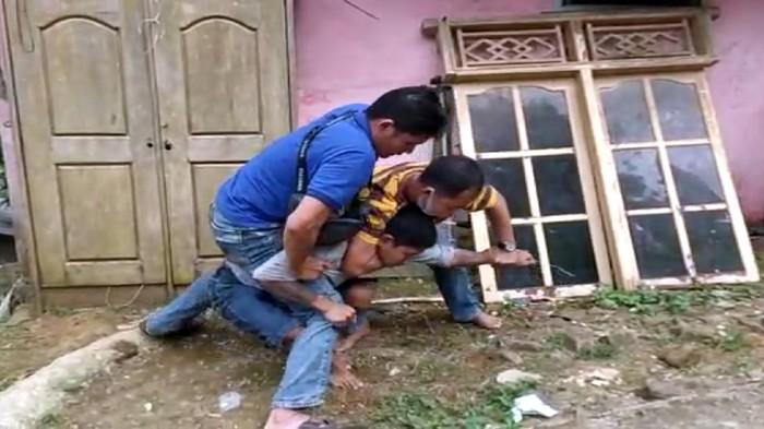 Penjahat Kambuhan Ditangkap Polisi di Sukabumi