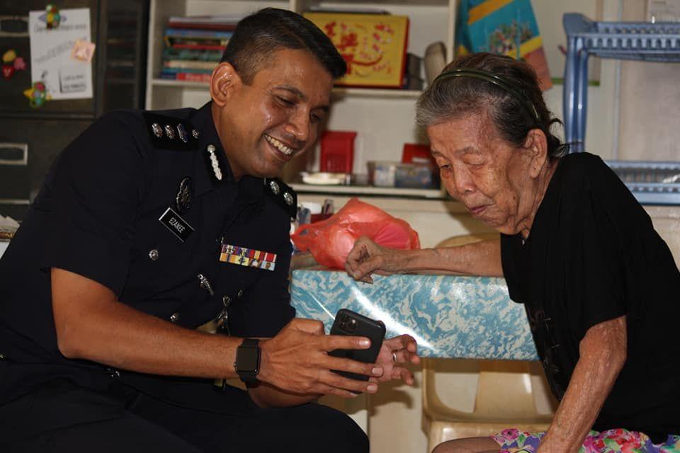Polisi kenang kebaikan wanita yang memberinya bakpao