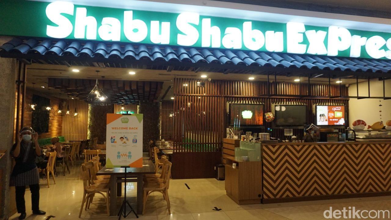 Protokol kesehatan di restoran shabu-shabu