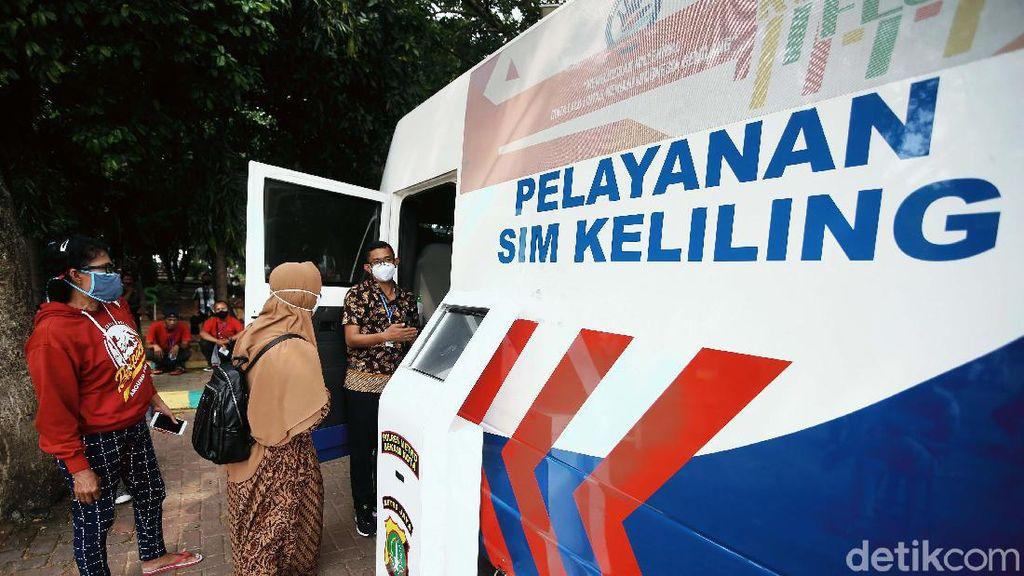 Lokasi SIM Keliling Wilayah Jakarta Hari Ini