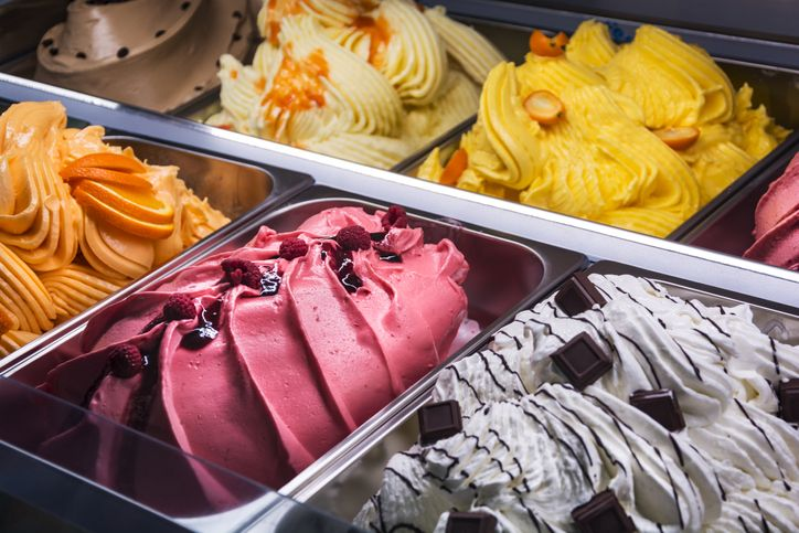 Sejarah es krim