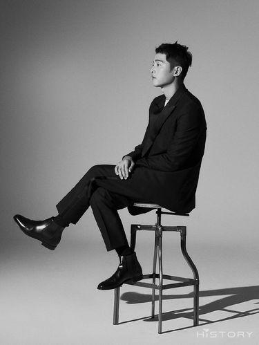 Song Joong Ki untuk majalah Hi_High