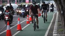 Sudirman-Thamrin Punya Jalur Sepeda, DKTJ Dorong Fasilitas Diperluas