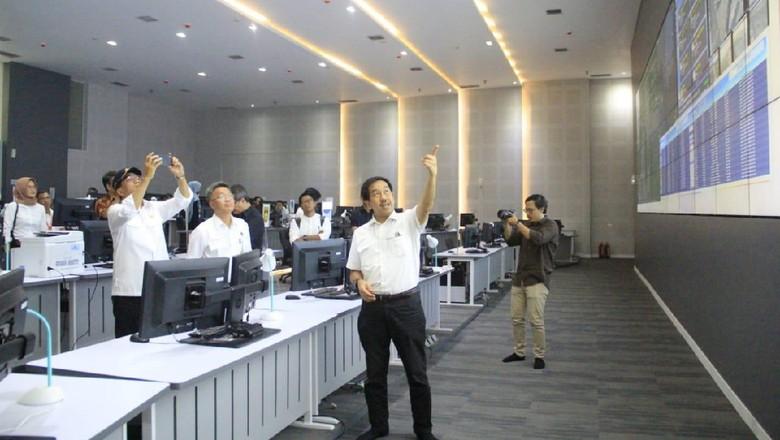 Airport Operation Control Center di Bandara Internasional Soekarno-Hatta