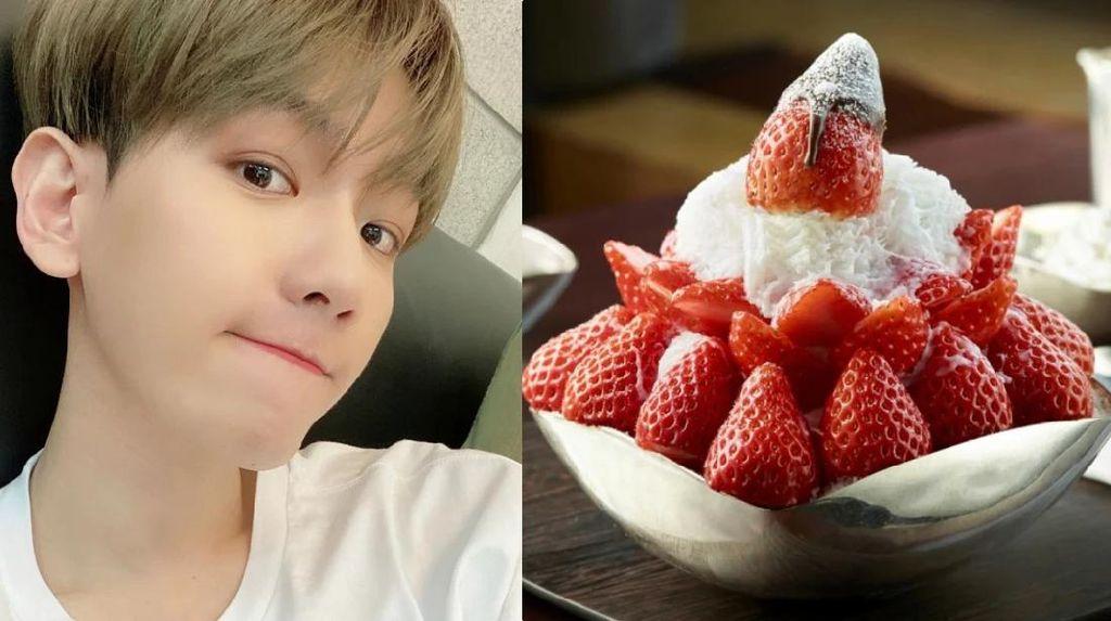 Baekhyun EXO Sebut Patbingsu Ssaegeureowuh, Penggemar Bingung