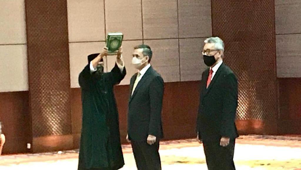 Dubes Andy Rachmianto Dilantik Jadi Dirjen Protkons dan Kepala Protokol Negara