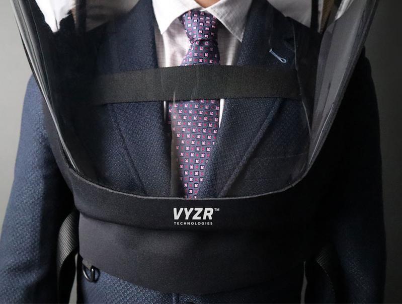 Face shield canggih BioVYZR