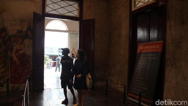 Kota Tua punya 3 museum yang berdekatan dengan harga yang terjangkau, yaitu Rp 5.000 untuk orang dewasa dan Rp 3.000 untuk anak-anak. Kota Tua telah dibuka kembali sejak 18 Juni lalu. (Tripa Ramadhan/detikcom).