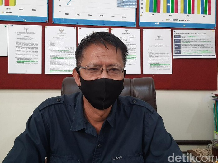 Kabid Pendidikan Menengah Dispendik Surabaya Sudarminto
