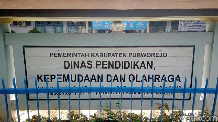 Kantor Dinas Pendidikan, Kepemudaan dan Olahraga Purworejo