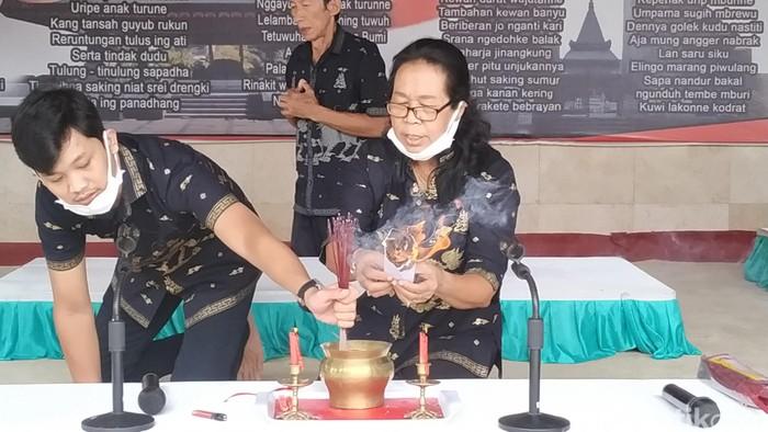 Kaum Khonghuchu Dalam Doa Lintas Agama Di Haul Ke -50 Bung Karno di Blitar