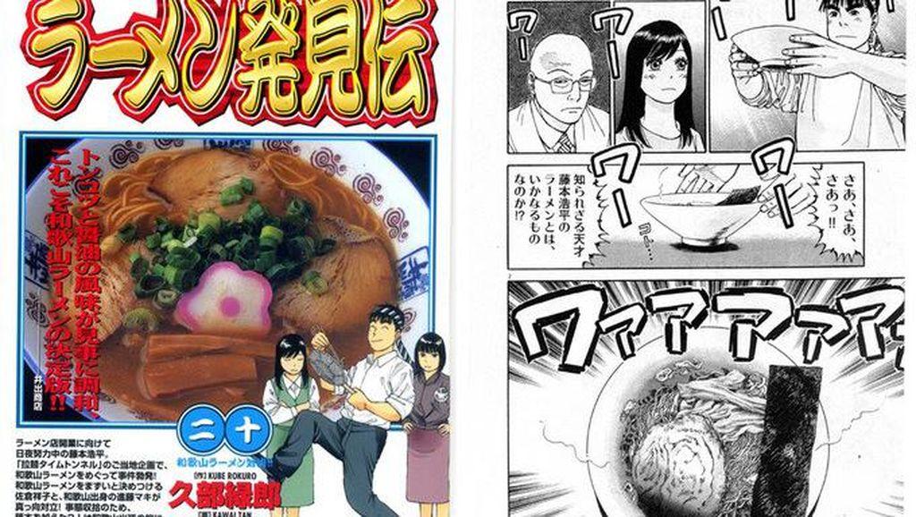 Selain Seru, Baca 5 Komik Ini Bisa Belajar Tentang Kuliner Jepang