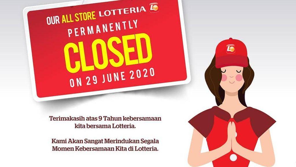 Lotteria Tutup Akhir Juni, Ini 5 Menu yang Bakal Bikin Kangen