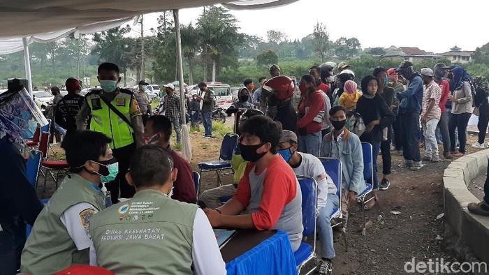 Rapid Test di Puncak Bogor