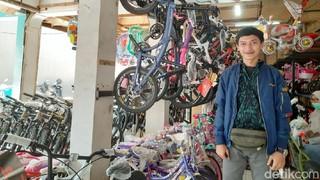 Cerita Pedagang Sepeda, Kebanjiran Order Omzet Tembus Rp 40 Juta/Hari