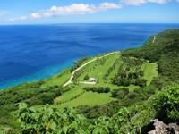 Sebagian besar pulau ini adalah taman nasional dan tambang fosfat. Meski begitu pulaunya sangat hijau! (Christmas Island)