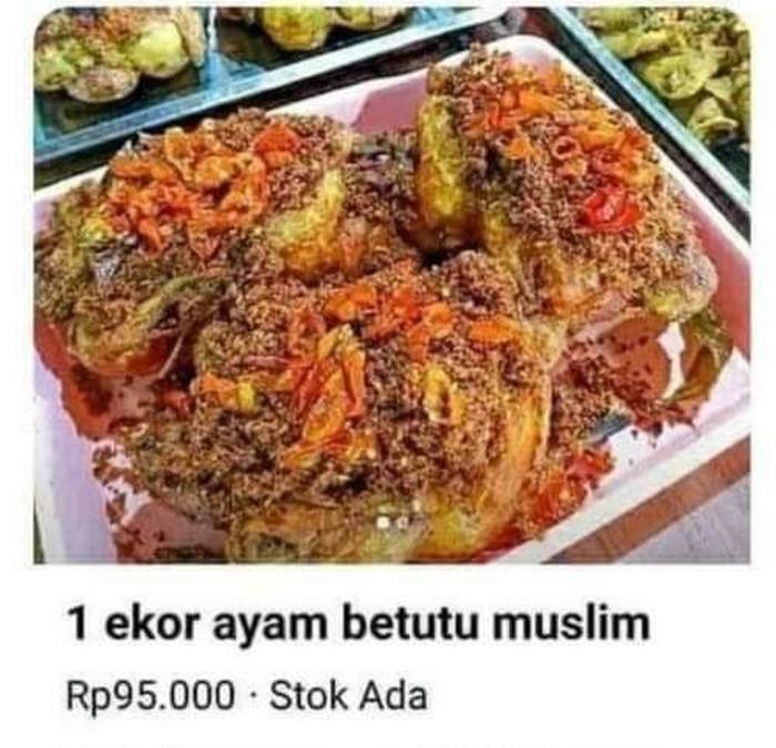 ayam betutu muslim