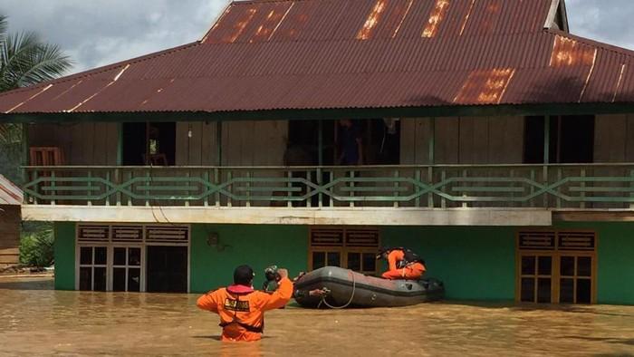 Banjir di Konawe Utara 21 Juni 2020 (Sitti Harlina/detikcom)
