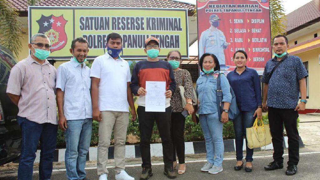 Merasa Difitnah Begituan, Wakil Ketua DPRD Tapteng Bikin Laporan