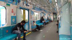 Jumlah Penumpang MRT Jakarta Anjlok 90% Imbas PPKM Darurat