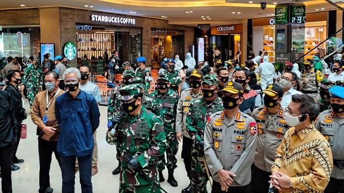 Suasana di Paragon Mall, Kota Semarang, Rabu (20/5/2020).